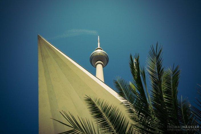 Stadtansichten - Der Fernsehturm am Alexanderplatz